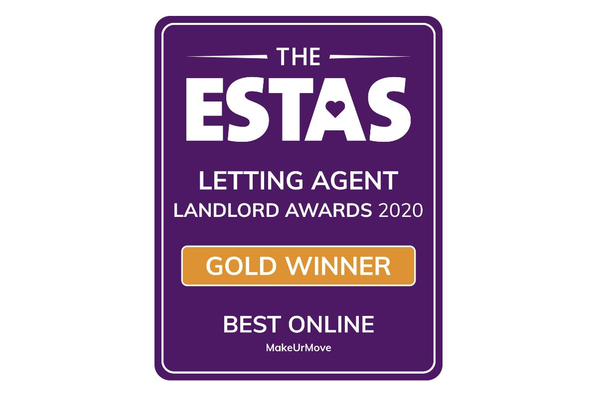 Gold Winners - Best Online Letting Agent 2020